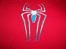 The Amazing Spiderman 2 Movie Polyester Athletic Red Graphic Print T Shirt XXL