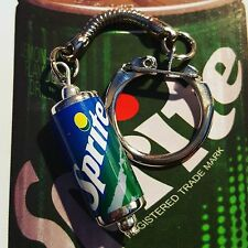 Unique SPRITE CAN KEYRING miniature POP soda LEMON LIME retro MIXED UP DOLLY