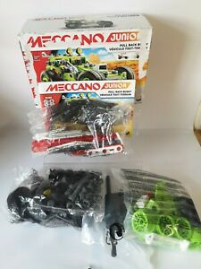 Meccano Buggy, Junior, 3-in-1 Deluxe Pull-Back Buggy Building Kit - Incomplete