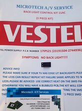 VESTEL 17IPS21 sin Kit de reparación de luz de fondo, lea el anuncio