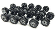 10 Sets of NEW LEGO WHEELS (20 tires/10 axles) truck car vehicle 30.4 mm x 14 mm