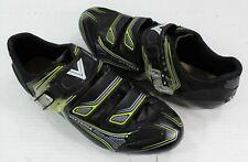 Vittoria Italian Style Men's Cycling Road Bike Shoes Size 44 (Eur) Black Euc