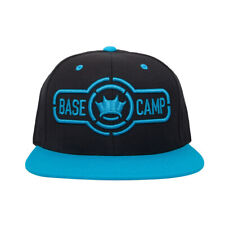 Dethrone Basecamp Snapback Hat - Black/Teal