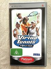 Virtua Tennis - World Tour - Sony PSP Game - Very Good Condition