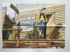 POSTER LUCKY LUKE SUPPLEMENT JOURNAL SPIROU N° 4076 / BONHOMME 2016