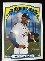 2021 Topps Heritage Yordan Alvarez High Number SP #500 Houston Astros