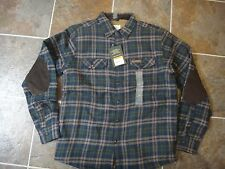 NWT FIELD & STREAM Men's Sherpa Lined Shirt Jacket Sz Small