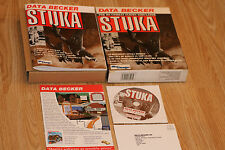 RARE DATA BECKER - STUKA - PC EXPANSION GAME - FOR MS COMBAT FLIGHT SIMULATOR