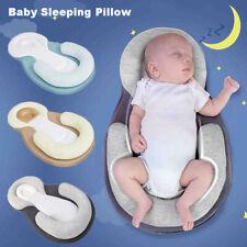 Infant Baby Newborn Pillow Cushion Prevent Flat Head Sleep Nest Pod Anti Roll