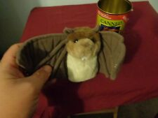 NORTHERN GIFT PLUSH DOLL FIGURE BAT IN A CAN CANNED BAT CHIROPTERA WINGED MAMMAL