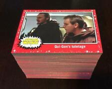 Star Wars Topps Red Pink Set 110 Cards Card Journey to the Last Jedi Target