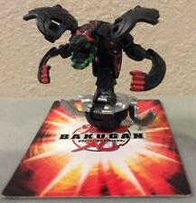 Bakugan Razenoid Black Aquos Red 1000G Mechtanium Surge Battle Brawlers *READ*