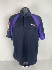 Fedex Polo Shirt Size S Stan Herman Workshirt Employee Uniform