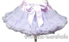 Lavender Purple Full Pettiskirt Petti Skirt Dance Tutu Dress For Teen Girl 8-10Y
