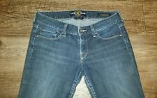 "LUCKY BRAND Womans Juniors Lola Boot Cut Denim Blue Jeans 2/26/30"" L B5"