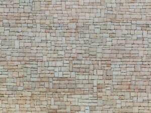 "Noch 56642 3D-Kartonplatten""Kalksteinmauer"",beige,HO,TT,N,OVP"