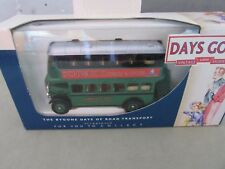**LOOK** New & Boxed DAYS GONE LLEDO DG015042 Aec Green Line Regent Bus SCHWARTZ