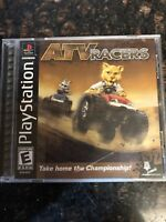 ATV Racers PS1 Great Condition Fast Shipping