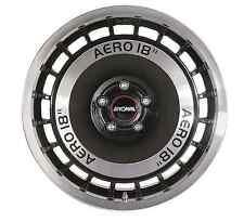 4 Alufelgen Ronal R50 AERO T5 T6 Touareg Amarok 18 Zoll schwarz frontkopiert
