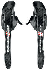 Campagnolo Record Carbon 11s EPS Ergopower Shifters Levers L & R Brake Cables