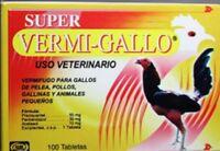 SUPER VERMI-GALLO - 100 tabs