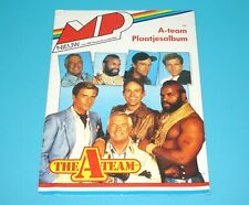 A-TEAM VINTAGE STICKER PHOTO PICTURE ALBUM UNUSED DUTCH 1980s MP HOLLAND