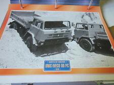 Super Trucks Baustellen LKW Italien Unic Iveco 90 PC, 1979