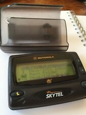 Motorola Sky Tel Pager/ Beeper With case
