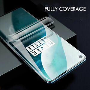 Hydrogel Soft Film Screen Protector For Oneplus 9 Pro 8 Pro 7T Pro 8T 6 Nord N10
