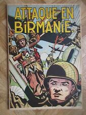 BUCK DANNY 6 ATTAQUE EN BIRMANIE 1953 TTBE (1B44)