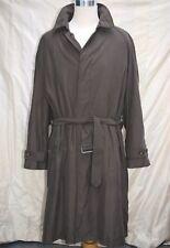 mens RALPH LAUREN overcoat coat microfibre removable wool lining size 44L or XXL