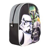 Rucksack Vorschule KiTa Freizeit Reisen Kinder Tasche Star Wars 3 D