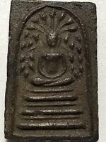 PHRA LP BOON RARE OLD THAI BUDDHA AMULET PENDANT MAGIC ANCIENT IDOL#21