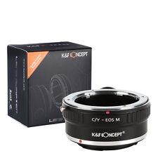 Fotodiox Lente Adaptador de montaje para Canon EOS Cámara CY Contax Yashica C//lente y