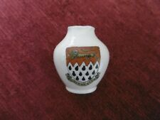 COLLECTABLE CHINA MINI VASE CRESTED CHICHESTER