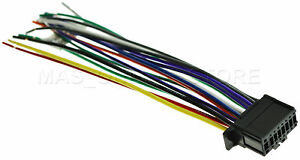 WIRE HARNESS FOR PIONEER FH-S52BT  FHS52BT *PAY TODAY SHIPS TODAY*