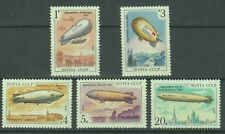 Russia Stamps 1991 Airships (Zeppelins) complete set MNH