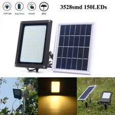 150 LED Solar Power Motion Sensor Flood Spot Light Outdoor Garden Security Lamp