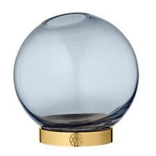 Globe Vase Mini Navy/gold Aytm