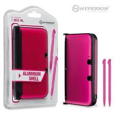 Nintendo 3DS XL Aluminum Armor Case & Dual Stylus Set - PINK