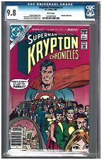 KRYPTON CHRONICLES #1 CGC 9.8 (9/81) DC comics white pages