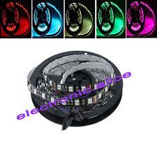 PCB Black 5M 5050 SMD RGB 300 LED Strip Decoration Light Non-Waterproof IP60