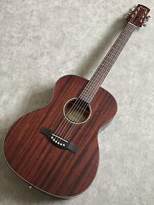 New Adam Black O-4M Natural Gloss All Mahogany Acoustic Guitar retail price £229