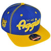 sports shoes 81fcf be3a3 NCAA AACA American Needle North Carolina A T Aggies Snapback Traxside Hat  Cap