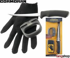 Team Cormoran Filetier-Combo Filetiermesser Filetierhandschuh Set Filetieren