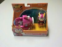 Nick Jr. Top Wing: Top Wing - Penny's Aqua Wing Figure and Vehicle NIP