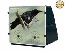 Collapsible Pellet Trap 12 Paper Targets Fold Storage Transport Hunting Outdoor