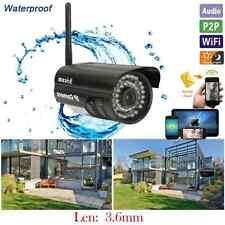 Outdoor P2P Wireless Network Webcam Security Bullet IR Cam Nightvision IP Camera
