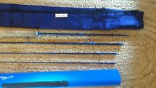 """Gold Cup Fly Fishing Rod with Travel Tube Case 9'0"""" #8 , 4pieces NEW"""