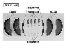 Set 2 pz Parafango per le ruote dei rimorchi 240 x 1500 mm V4M4